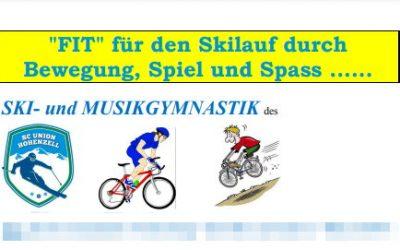 EINLADUNG zur Ski- und Musikgymnastik
